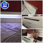 <b>6 Pcs White</b> Glossy Bedroom Package In Queen Size | Empire ...
