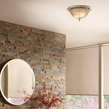 fan light chrome square bathroom ceiling satin
