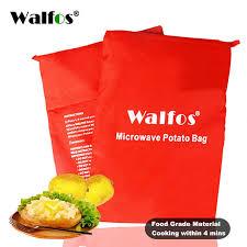 WALFOS <b>1PC</b> Washable <b>Microwave Potato Bag</b> | Shopee Malaysia
