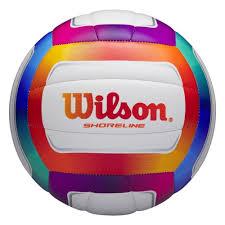 <b>Мяч волейбольный Wilson</b> Shoreline, р.5, 18 панелей, PVC ...