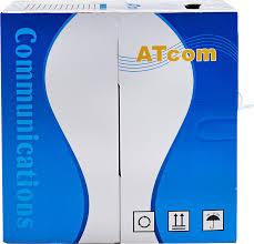 <b>Кабель</b> для компьютерных <b>сетей</b> ( витая пара) <b>ATCom</b> UTP5e, 4 ...