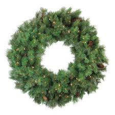 Northlight Pre-lit <b>Royal</b> Oregon Pine Artificial <b>Christmas</b> Wreath - 36 ...