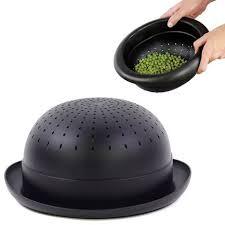Doiy Дуршлаг Bowler <b>Hat</b>, 28х24х11 см, черный DYBOWLEBK ...