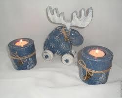 Купить Новогодний интерьерный <b>набор</b> - <b>синий</b>, Новый Год ...