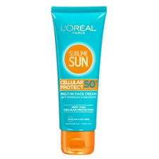 <b>L'Oreal Paris</b> Sublime <b>Sun Крем</b> для лица Экстра защита SPF50 ...