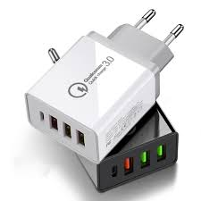 <b>OLAF</b> 36W <b>QC3</b>.<b>0</b> PD 4-Port <b>USB</b> Type-C Output Quick Charge <b>USB</b> ...