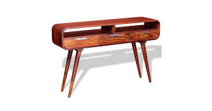 Console Table <b>Solid Sheesham</b> Wood 120x30x75 cm - Matt Blatt