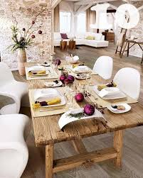 rustic chic dining room tables chic dining room table