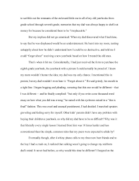 word essay on how i learned my lesson   to