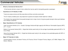 indian commercial vehicle industrycommercial vehicles – an overview