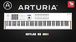 <b>MIDI клавиатура ARTURIA KeyLab</b> 88 MKII - YouTube