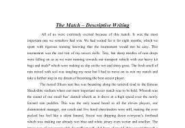 descriptive writing essays gcse  miscampinascombredu where do u put the thesis statement descriptive writing