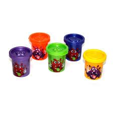 """<b>Вязкая масса Danko Toys</b> """"Crazy Slime"""", 5 цветов, 28 баночек, 5+ ..."""