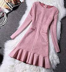 CHENG'S Autumn Winter Fashion <b>Women Dress</b> Long Sleeve ...
