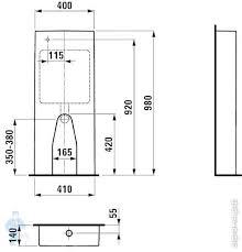 <b>Бачок для унитаза Laufen</b> KARTELL 828661 (400х140х980 ...