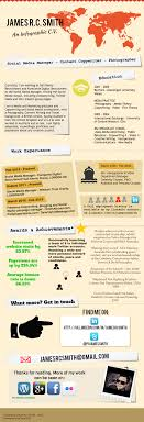 social media manager an infographic c v resume smith in london
