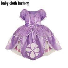 new <b>girl</b> dress baby <b>girl</b> clothes <b>sofia princess</b> Fluffy dress cosplay ...