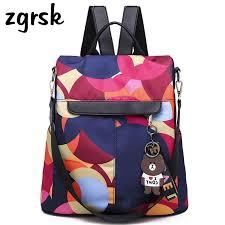 <b>Woman</b> Printing Designer <b>Backpack Women Oxford Backpacks</b> ...