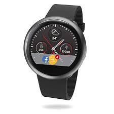 MyKronoz ZeRound2 <b>Smartwatch</b> with Circular <b>Color Touchscreen</b> ...