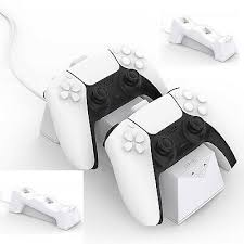 For PS5 <b>Game Controller Charging Stand Base</b> Handle Charger ...