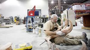 cool jobs q a dino displayer ca cool jobs garth dallman fossil mounting specialist