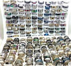 <b>500pcs</b> MIX <b>Fashion</b> Men Women Stainless Steel Rings <b>Wholesale</b> ...