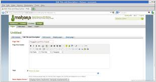 otori example mahara software beneath the waves mahara 1 4 3 page creation 5 7