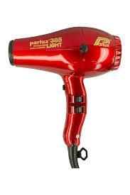 <b>Фен</b> для волос <b>Parlux 385 POWER</b> LIGHT Ionic&Ceramic, красный