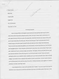 rhetorical patterns english portfolio classification essay