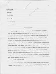 rhetorical patterns english portfolio classification essay