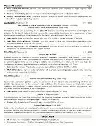 cv sales and sample online marketing manager resume