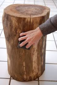 once awesome tree trunk table 1