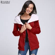 <b>ZANZEA</b> плюс размеры для <b>женщин</b> толстовки Флисовые Кофты ...