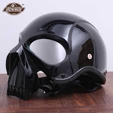 <b>Vintage</b> Skull <b>Motorcycle Glasses</b> Detachable Modular Mask ...