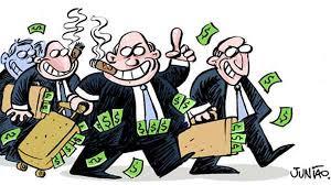Resultado de imagem para charge com corruptos