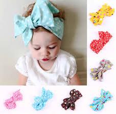 Cute <b>Kids Girls Baby</b> Toddler Solid Tassels Turban Knot <b>Headband</b> ...