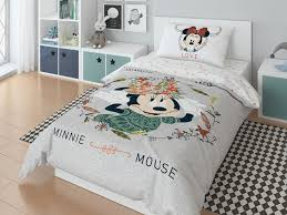 Полутороспальный <b>комплект постельного белья Minnie</b> Mickey ...
