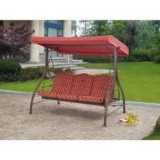 glider bench canopy amazoncom outdoor  triple seater hammock swing glider canopy patio dec