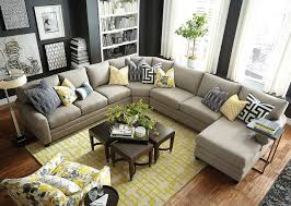 Hgtv Home Design Studio Cu U Shaped Sectional By Bassett