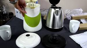 <b>Philips</b> HD9305 <b>electric</b> kettle unboxing + test - YouTube