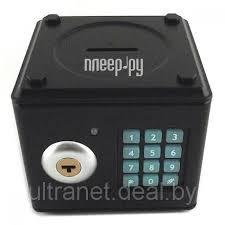 <b>Копилка для денег Эврика</b> Сейф малая Black 94927, цена 76.03 ...