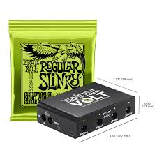 Ernie Ball Introduces Volt, <b>A</b> Power Supply Pedalboard Solution ...