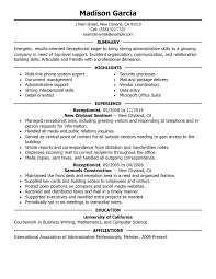 Aaaaeroincus Picturesque Best Resume Examples For Your Job Search
