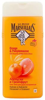<b>Гель</b>-<b>пена для душа</b> Le Petit Marseillais Апельсин и грейпфрут ...