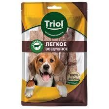 <b>Легкое говяжье</b> воздушное для собак <b>Triol</b>, 40 г (5054222) - Купить ...