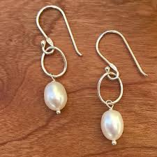 simple freshwater pearl women s