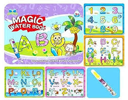 <b>Magic Water Book</b> Water Coloring Book with Water Pen for Kids ...