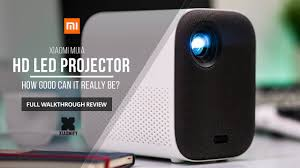 <b>Xiaomi</b> Mijia HD <b>Projector</b> (Youth Edition) Full walkthrough review ...