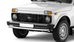<b>Защита переднего</b> бампера одинарная <b>63мм</b> Lada 4х4 2121 1995