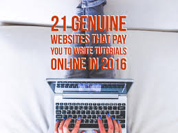 online writing jobs archives the pink route 21 genuine websites that pay you to write tutorials online in 2016